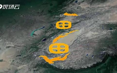 从60万米高空看新疆,是什么体验?